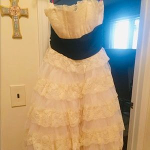 Rare Betsey Johnson Tea Party/Bridal dress